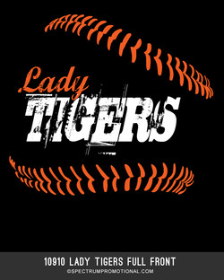 10910 Lady Tigers Full Front