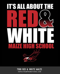 7068 Red & White Maize