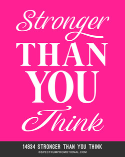 14834 Stronger Than You Think