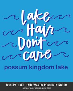 12995pk Lake Hair Waves Possum Kingdom
