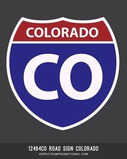 12464CO Road Sign Colorado