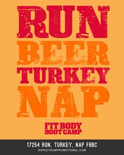 17254 Run, Turkey, Nap FBBC