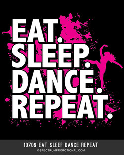 10709 Eat Sleep Dance Repeat