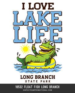 16532 Float Fish Long Branch