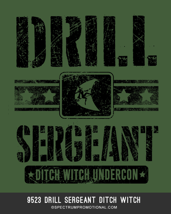 9523 Drill Sergeant Ditch Witch