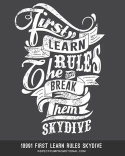 10991 First Learn Rules Skydive