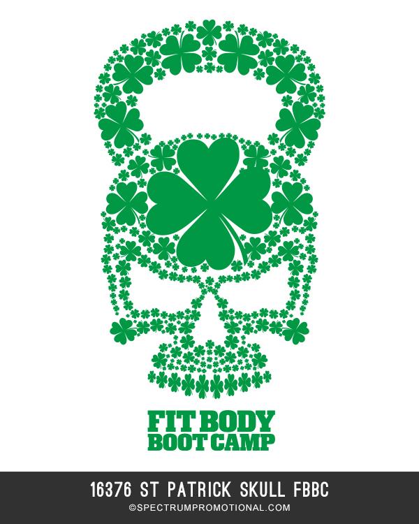 16376 St Patrick Skull FBBC
