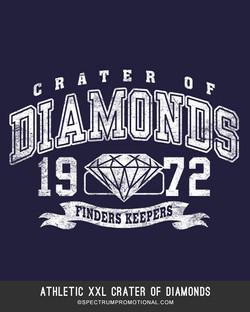 Athletic XXL Crater Of Diamonds