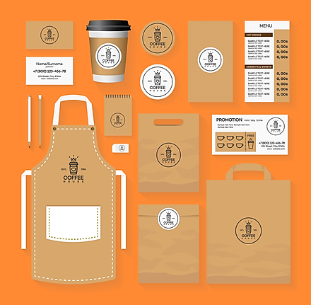 Promotional products illustration