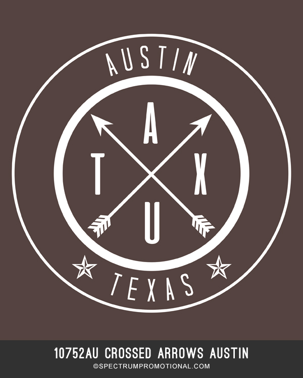 10752AU Crossed Arrows Austin