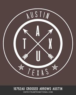 10752AU Crossed Arrows Austin