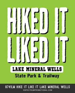 9741LM Hike it like it lake mineral well