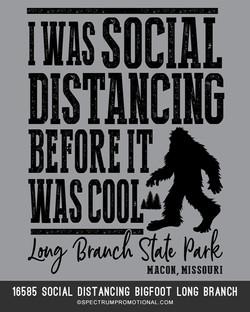 16585 Social Distancing Bigfoot Long Bra