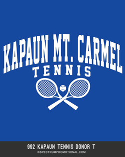 992 Kapaun Tennis Donor T