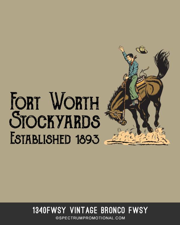 1340FWSY Vintage Bronco FWSY