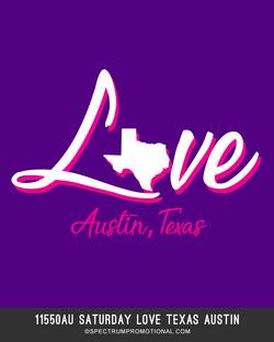 11550AU Saturday Love Texas Austin