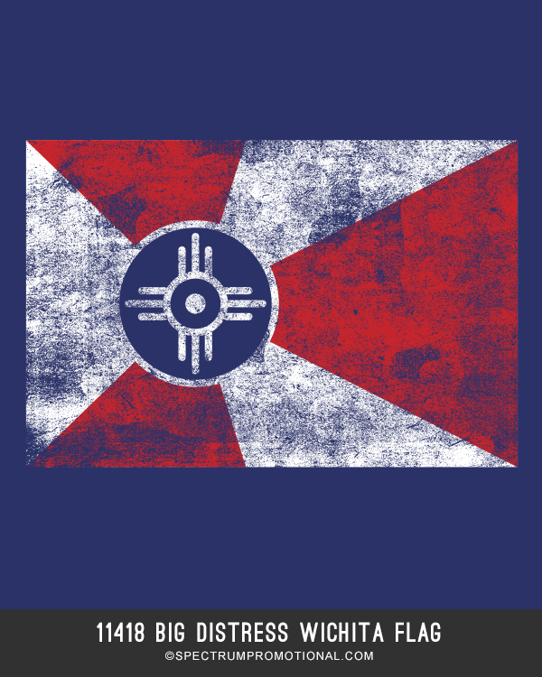 11418 BIG DISTRESS WICHITA FLAG