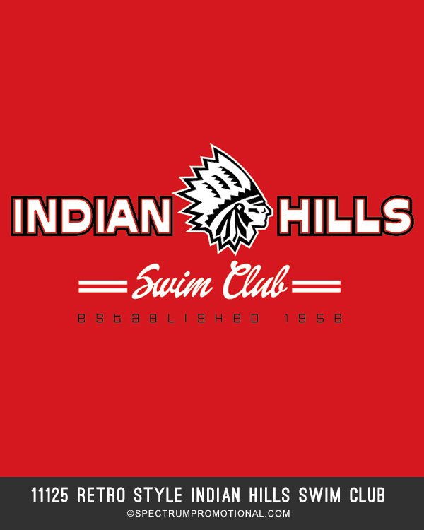 11125 retro style indian hills swim club