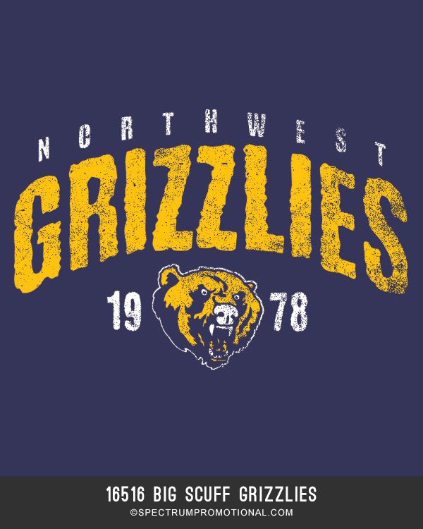 16516 Big Scuff Grizzlies