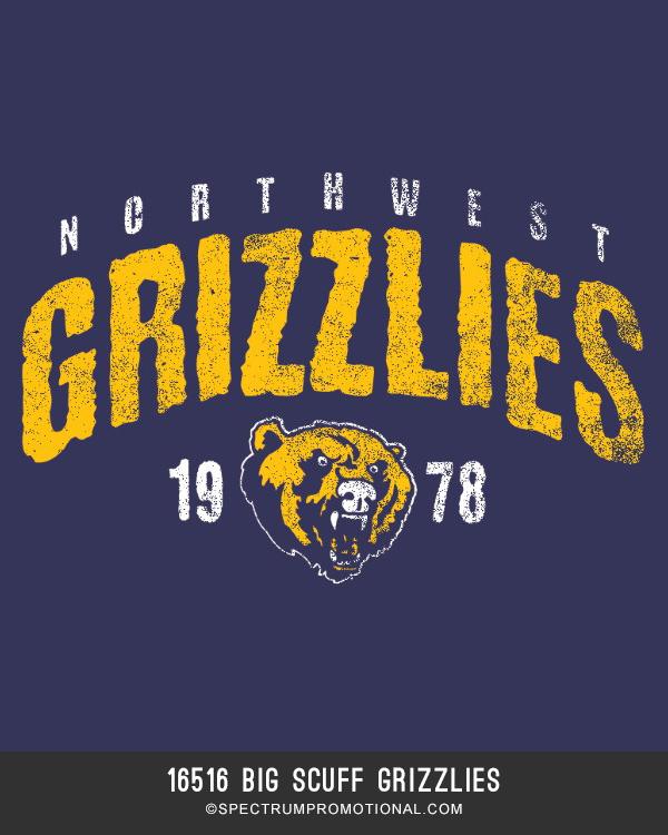 16516 Big Scuff Grizzlies