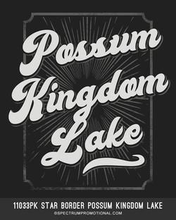 11033PK Star Border Possum Kingdom Lake.