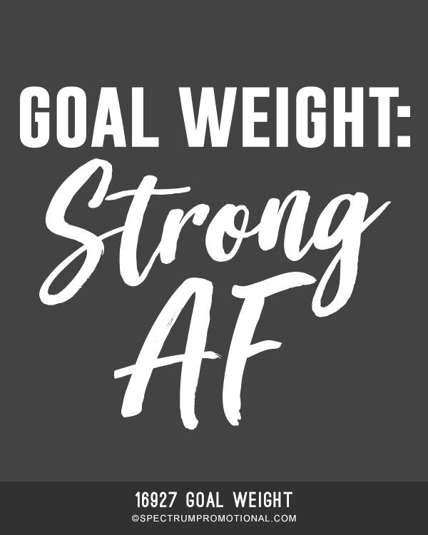 16927 Goal Weight