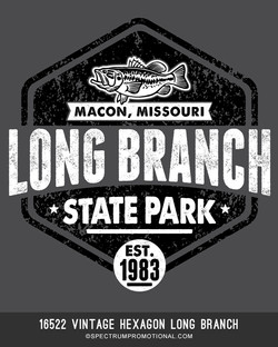 16522 Vintage Hexagon Long Branch