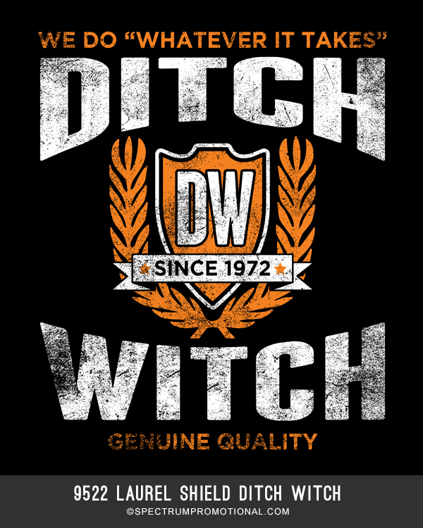 9522 Laurel Shield Ditch Witch