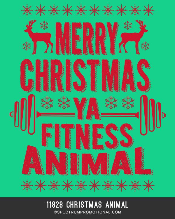 11828 Christmas Animal