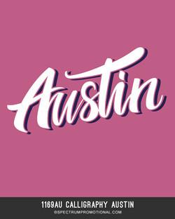 1169AU Calligraphy Austin