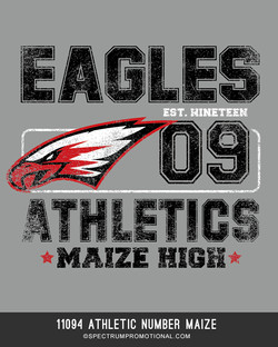 11094 Athletic Number Maize