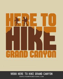 16580 Here to Hike Grand Canyon