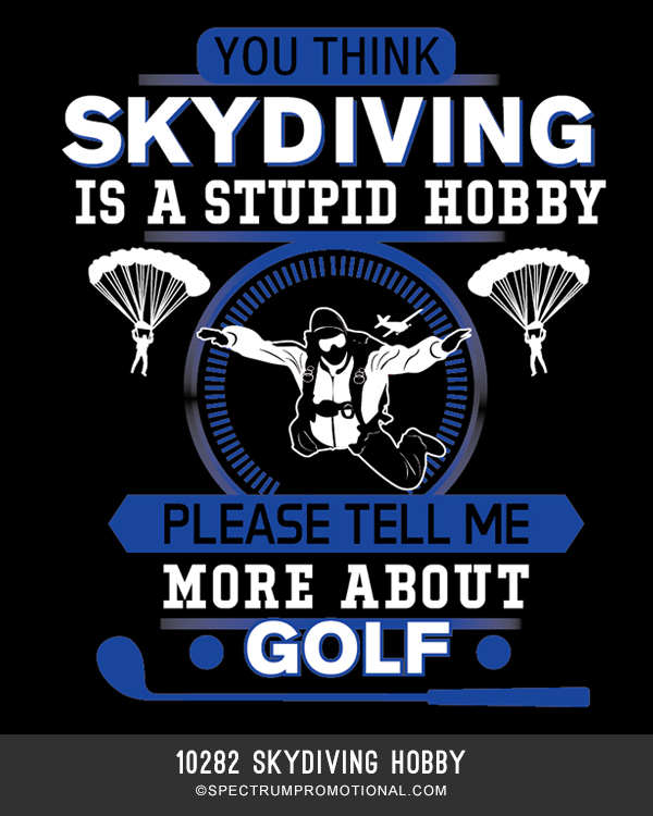 10282 Skydiving Hobby