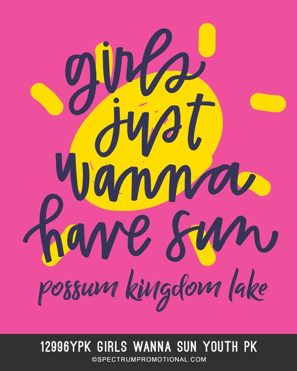 12996YPK Girls wanna sun youth pk