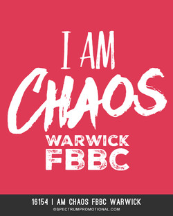 16154 I Am Chaos FBBC Warwick