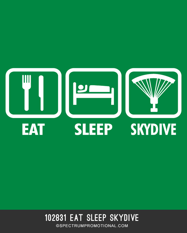 102831 Eat Sleep Skydive