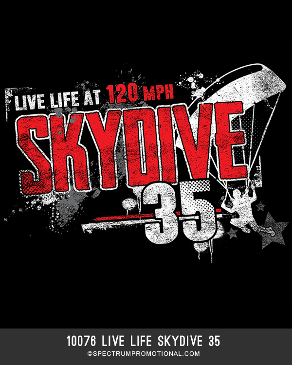 10076 Live Life Skydive 35