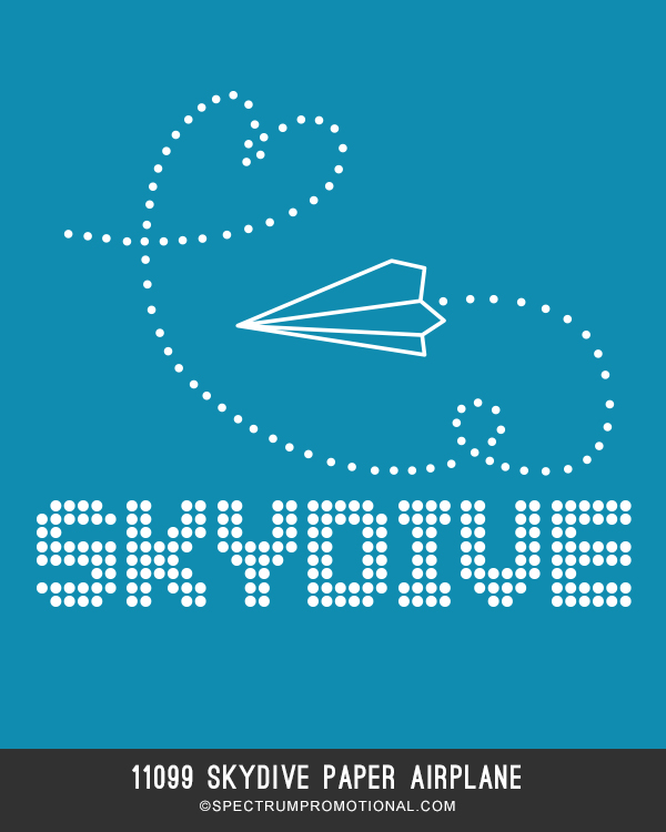 11099 Skydive Paper airplane