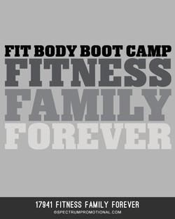 17941 Fitness Family Forever