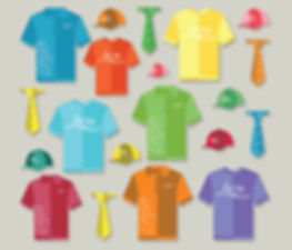 Promotional apparel illustration