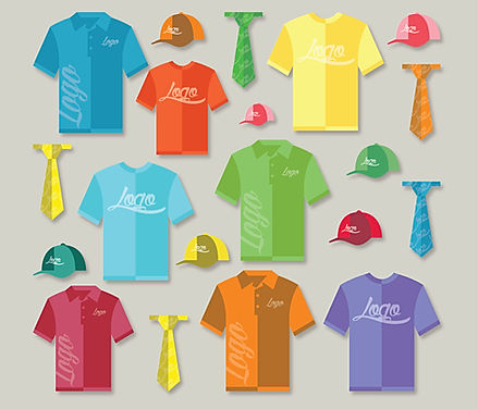 Promotional apparel illustration