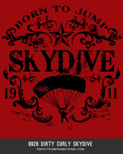 9928 Dirty Curly Skydive