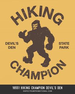 16551 Hiking Champion Devil's Den