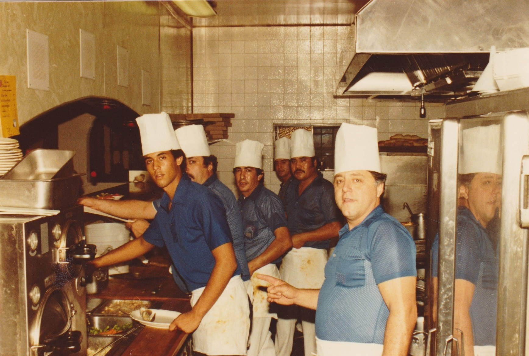 1983 kitchen staff