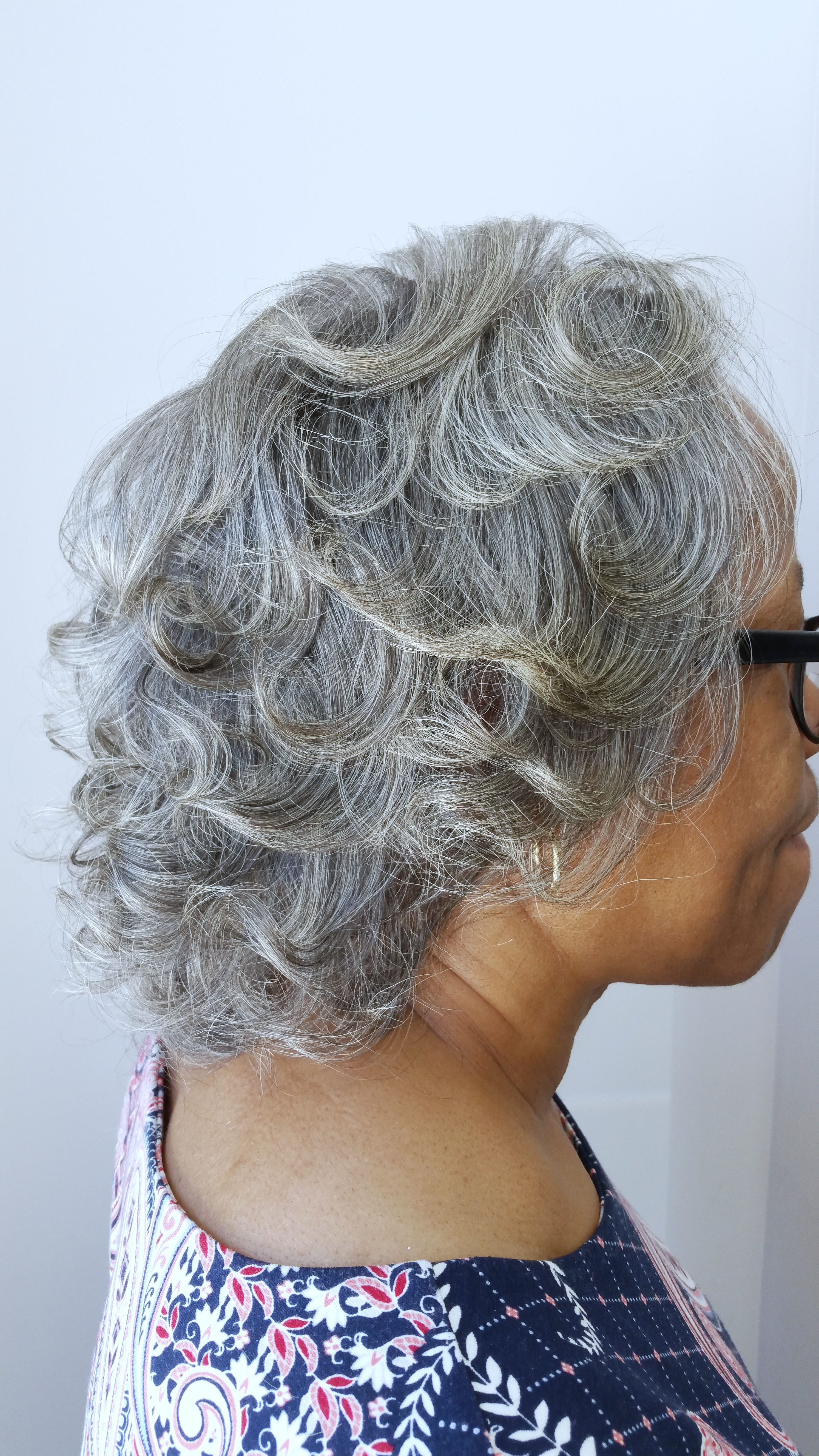 Natural hair- Blow Out