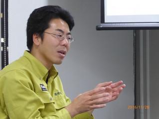 似田貝諭氏講演会