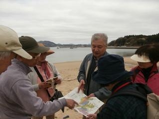 「化石探検」ワークショップ 下見報告