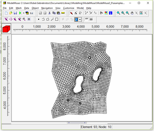 Figure 5. ModelMuse GUI for finite difference (left) and finite element (right) modelling