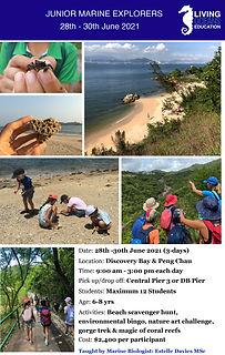 Junior Marine Explorers_Summer June 2021