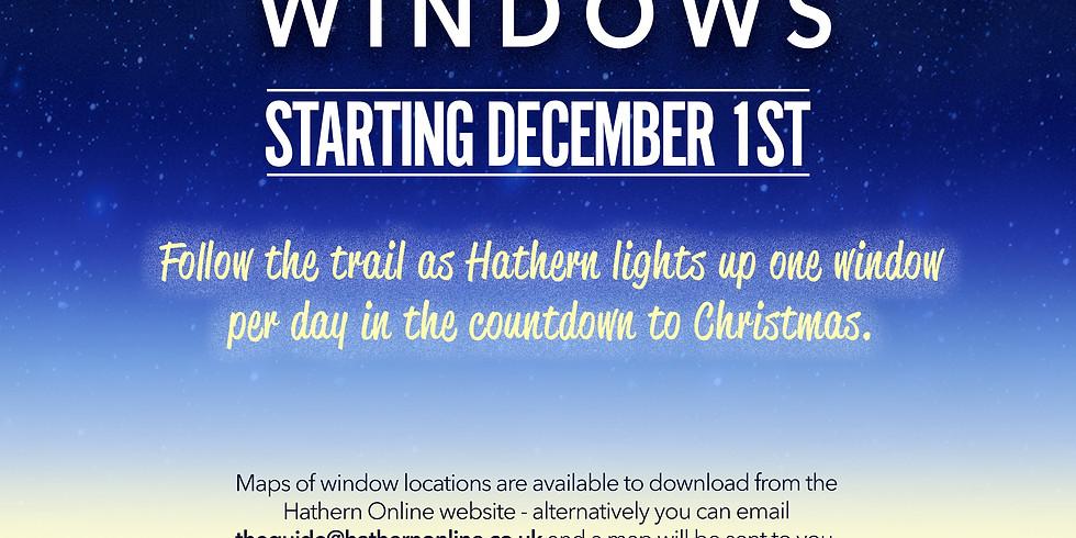 Hathern's Advent Windows